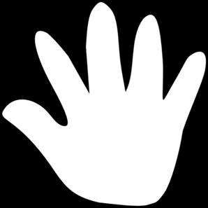 298x297 Cartoon Hand Clip Art