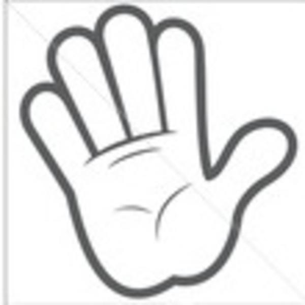 600x600 Cartoon Hands Clipart