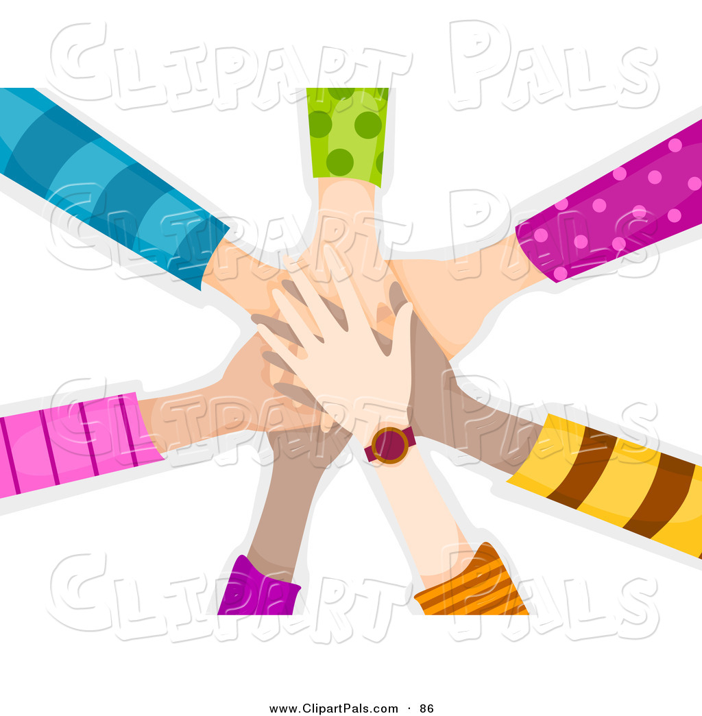 1024x1044 Pal Clipart Of Team Of Children's Hands Piled While Making
