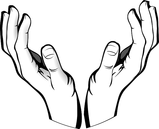 640x518 Hand Clipart God Hand