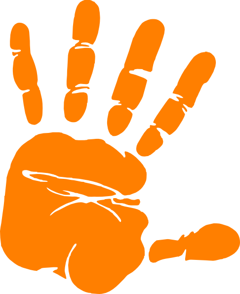 486x595 Handprint Outline Hand Outline 2 Hands Template Clipart 3