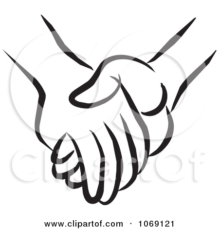 450x470 Holding Hands Clipart In Black And White 101 Clip Art