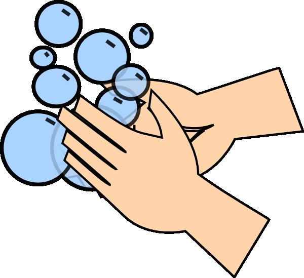 600x549 Free Hand Washing Clipart Image