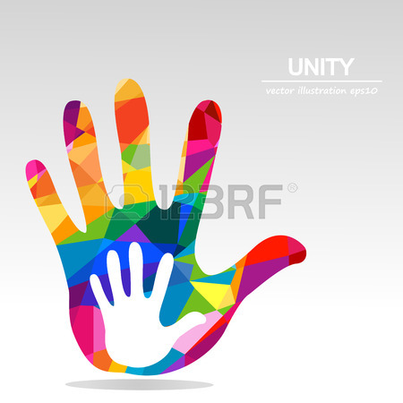 450x450 Hands Helping Illustration Background Royalty Free Cliparts
