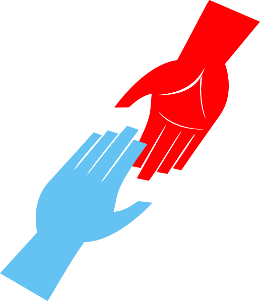 516x597 Helping Hands Clipart