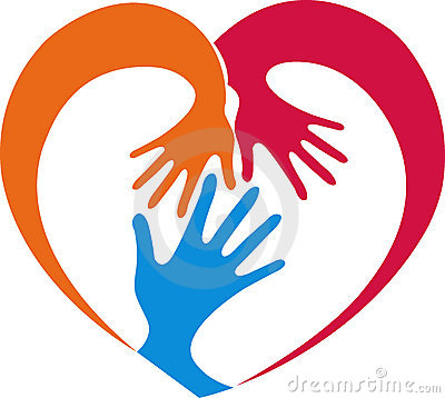 400x358 Hand And Heart Clipart