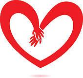 170x160 Heart Hands Clip Art