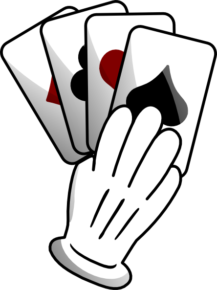 444x593 Holding Cards Cliparts 221932