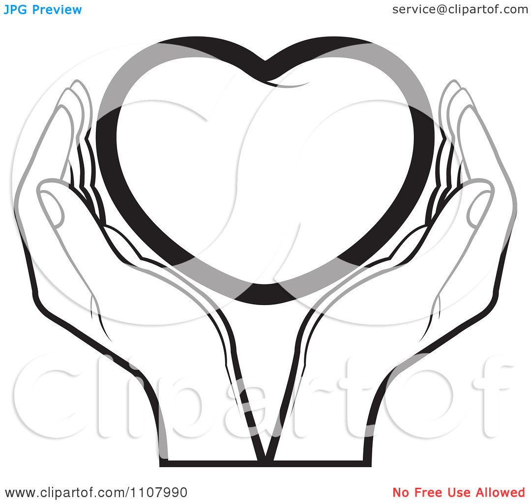 1080x1024 Holding Hands Clipart In Black And White 101 Clip Art