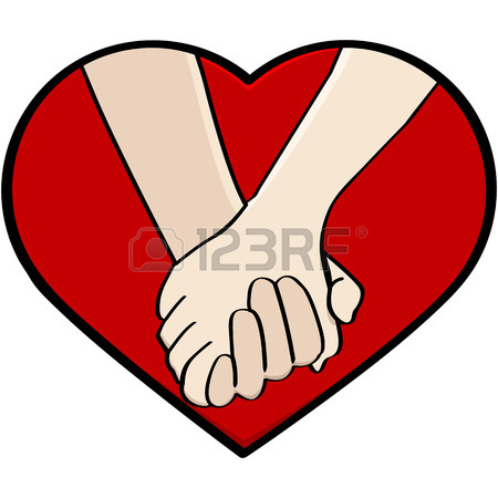 450x450 6,428 Couple Holding Hands Stock Vector Illustration And Royalty