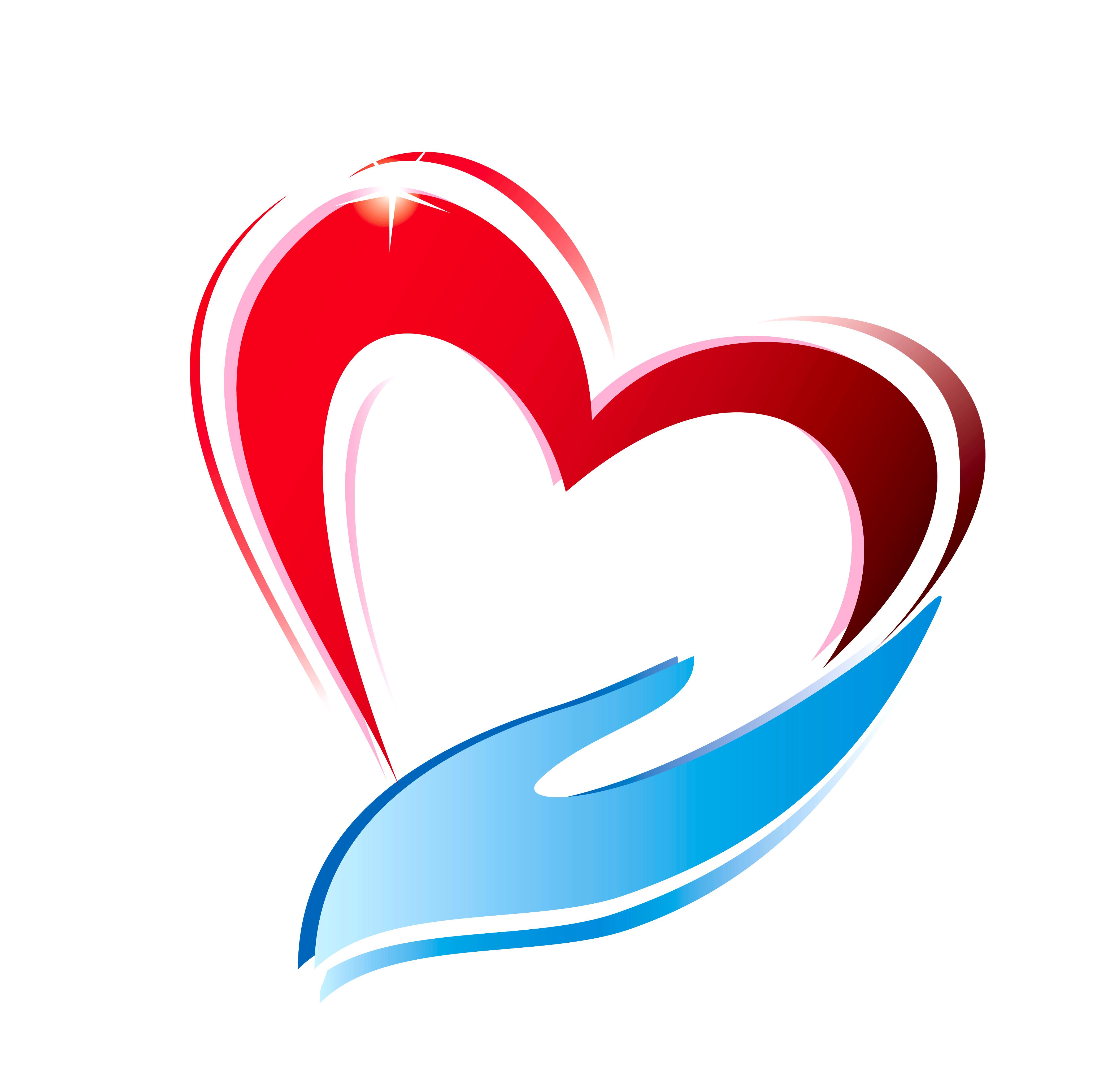 4177x4116 Love Clipart Caring Heart