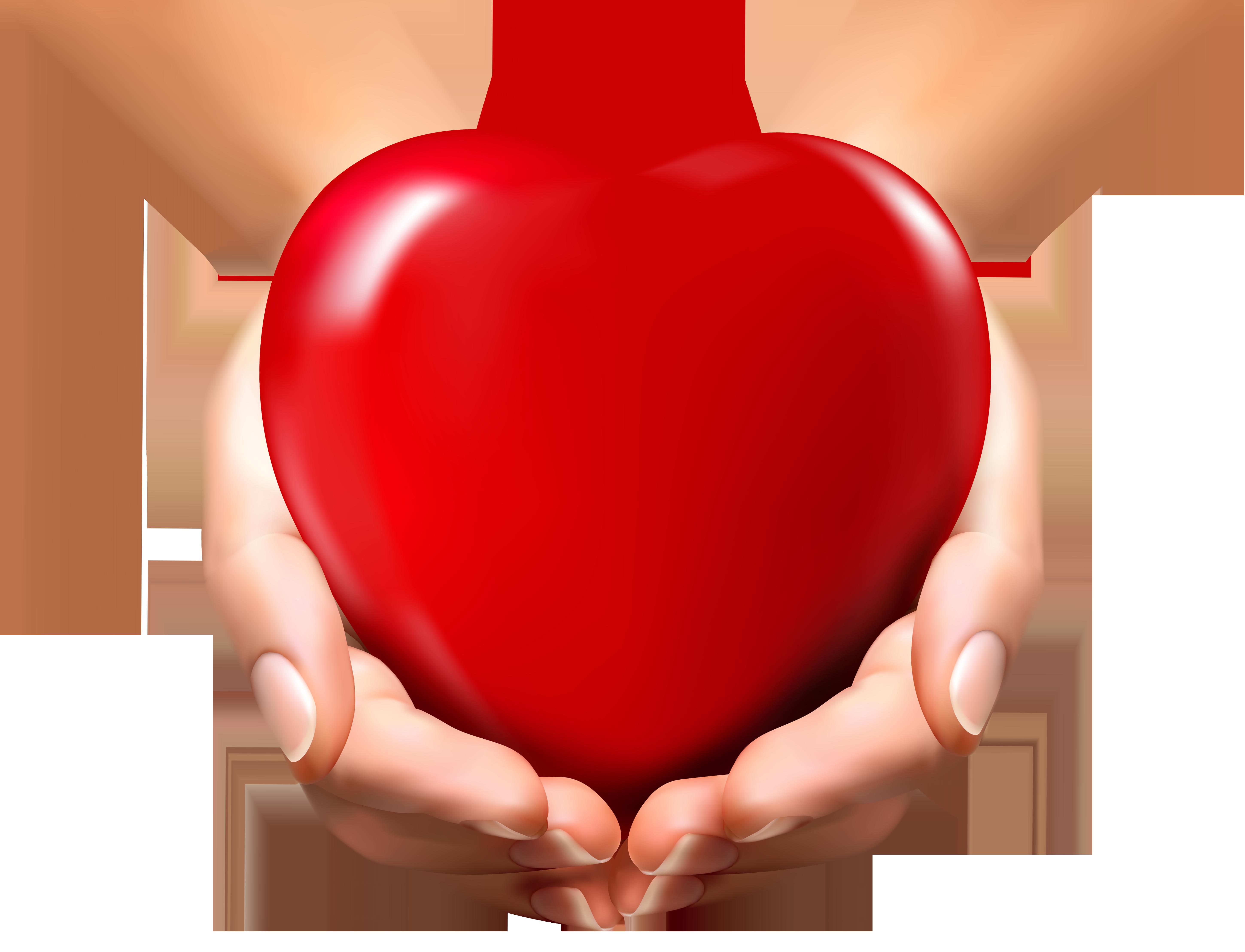 5799x4435 Clipart Heart In Hands