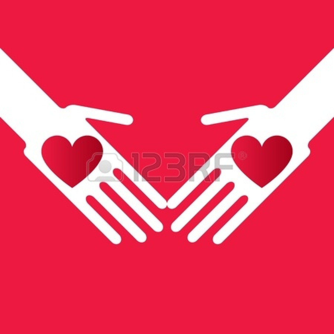 1350x1350 Giving Hands Clipart