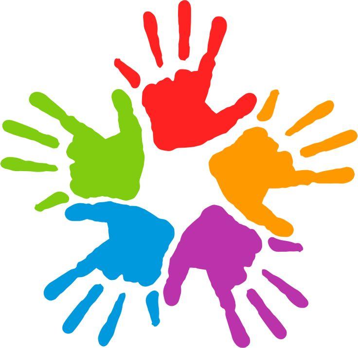 736x716 Kids Hands Clipart
