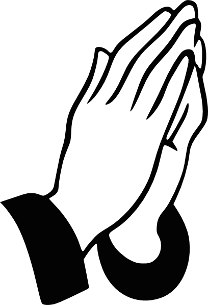 408x598 Praying Hands Clip Art