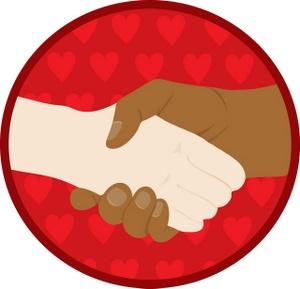 300x289 Shaking Hands Handshake Clip Art
