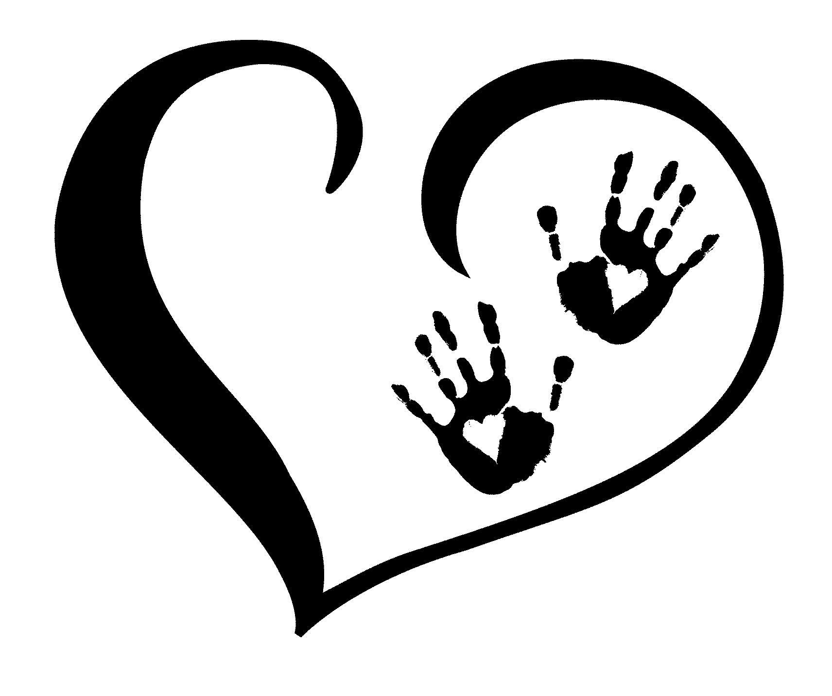 1712x1432 Handprint Clipart Massage Hand