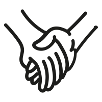 200x200 Holding Hands Icons Noun Project