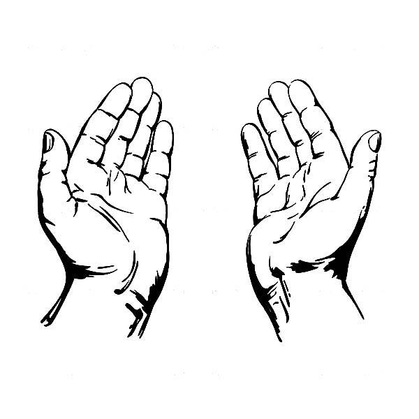600x600 Praying Hands Clipart 8 Wikiclipart