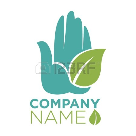 450x450 Hand Template Of Helping Hands Or Hand In Hand With Heart, Leaf