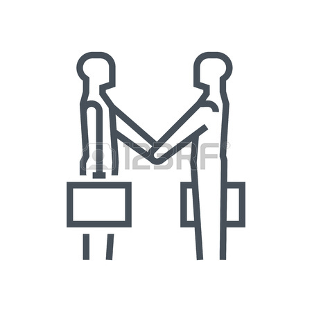 450x450 Hand Shake Icon Suitable For Info Graphics, Websites And Print