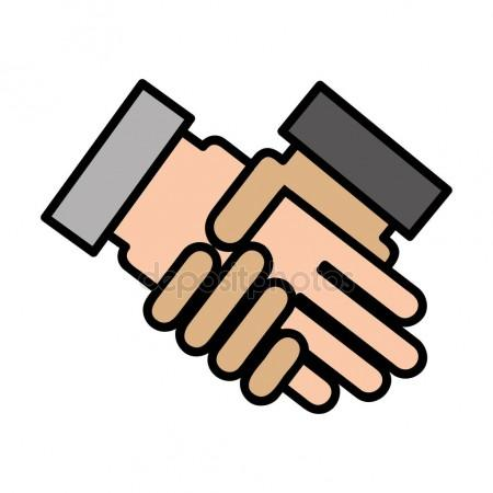 450x450 Hand Shake Icon Stock Vectors, Royalty Free Hand Shake Icon