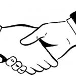 150x150 Handshake Clipart Handshake Clipart Download Coloring Pages