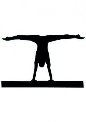 Handstand Silhouette