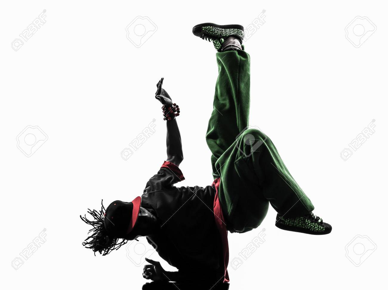 1300x973 One Hip Hop Acrobatic Break Dancer Break Dancing Young Man