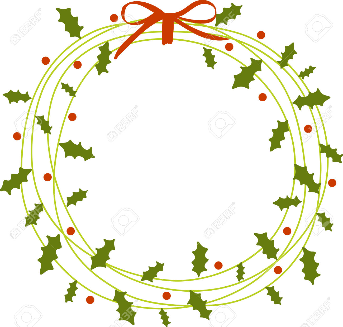 1300x1239 Wreath Clipart