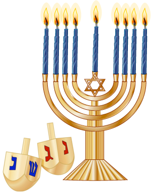 300x385 Hanukkah