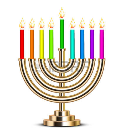 422x450 Hanukkah Clipart