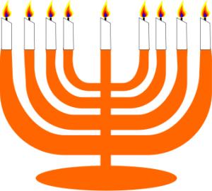 300x271 Simple Menorah For Hanukkah With Clip Art Download