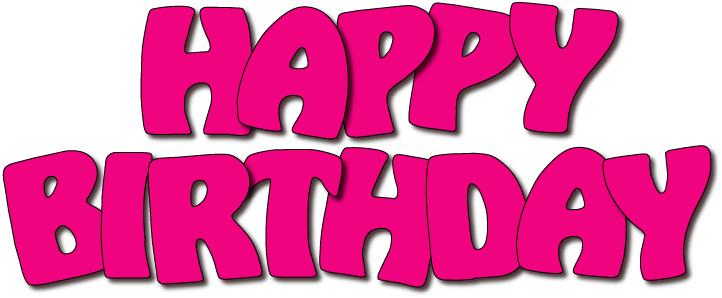 722x298 Birthday Clipart Happy
