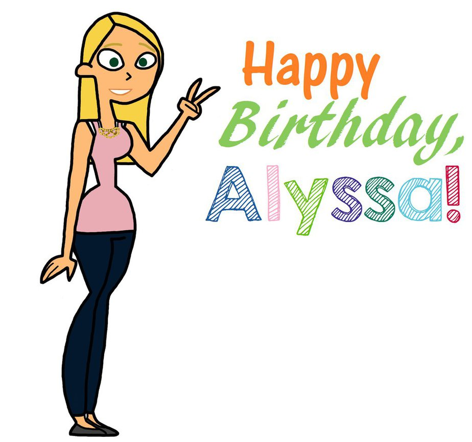924x864 Happy 18th Birthday, Alyssa! By Sassafras Tea