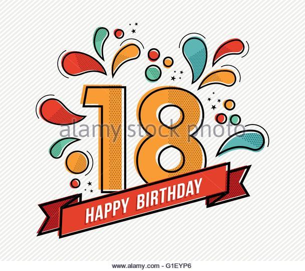 609x540 Happy 18th Birthday Stock Photos Amp Happy 18th Birthday Stock