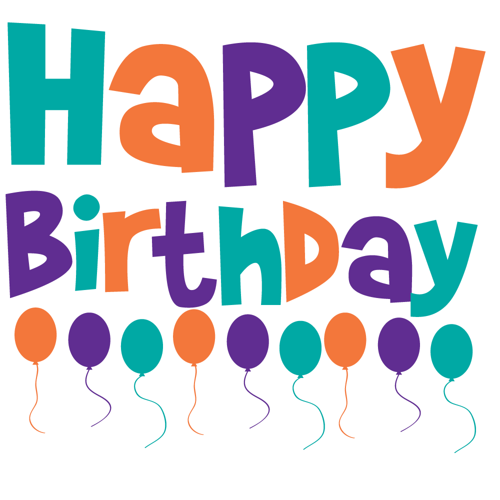 1000x1000 Happy 21st Birthday Clipart