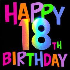 236x236 Happy 18th Birthday Wishes 18th Birthday Category Birthday