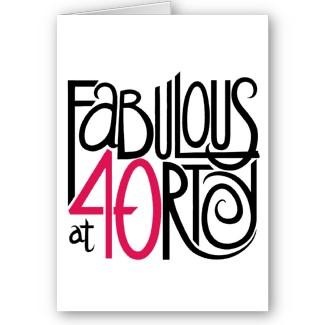 325x325 40th Birthday Clipart Jokes