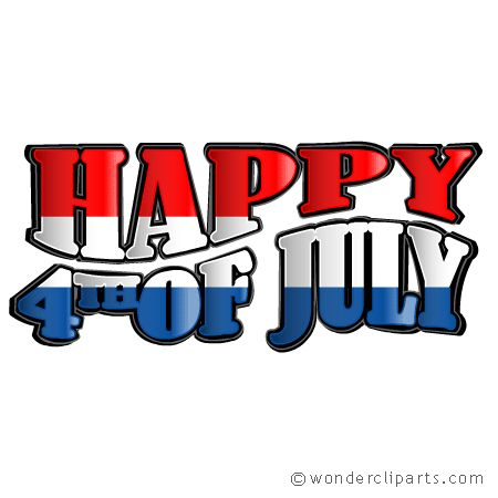 450x450 Festival Clipart Fourth July