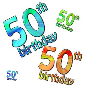 300x300 50 Birthday Clipart