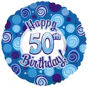 288x287 Happy 50th Birthday Clipart