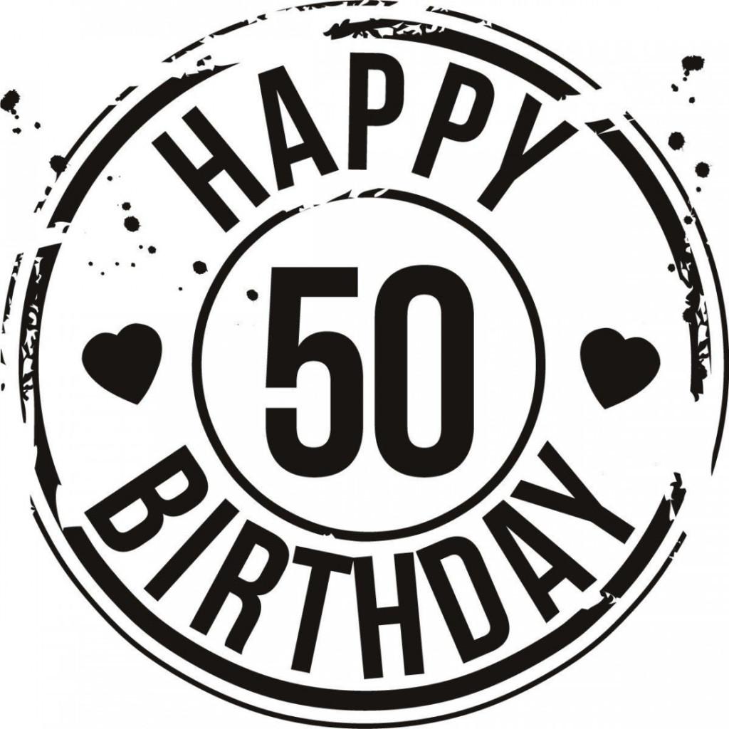 1024x1024 Happy 50th Birthday Image