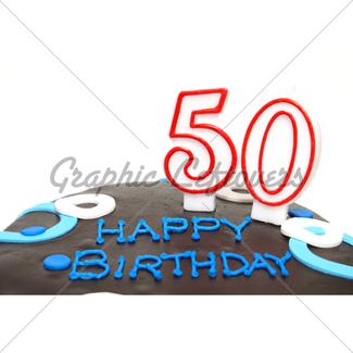 325x325 Happy 50th Birthday Gl Stock Images