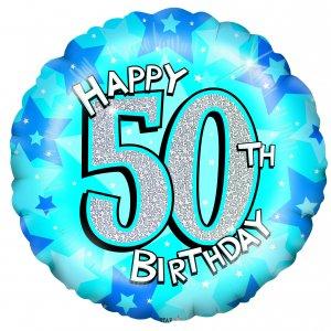 300x300 50th Birthday Balloons Clipart
