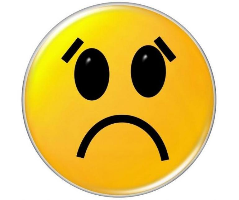 770x642 Emotional Clipart Sad Emoticon