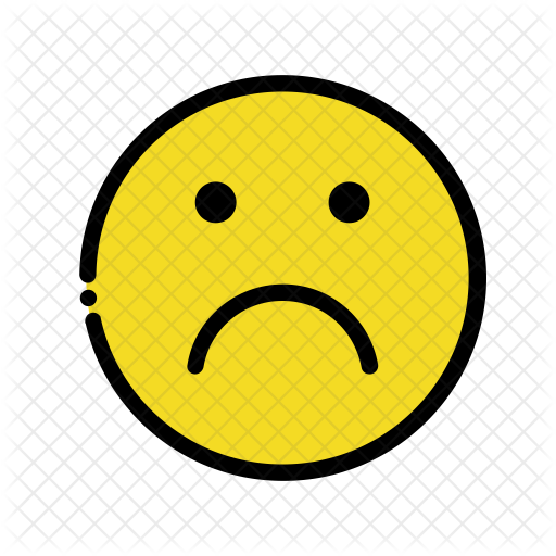 512x512 Sad Emoji Icon