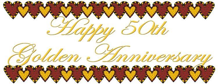 750x290 Happy 50th Anniversary Clipart