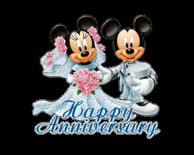 400x320 Happy Anniversary Clip Art Animated 2