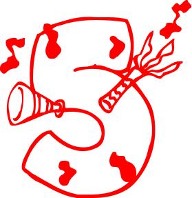 279x287 Anniversary Party Clip Art